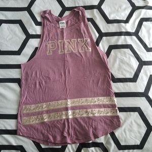 Pink (Victoria's Secret) sleeveless shirt